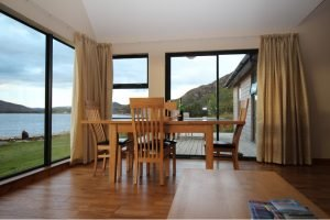 Ardmair accommodation lodge dining