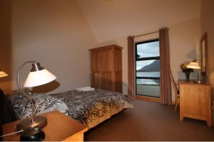 Ardmair lodge double bedroom