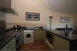 Ardmair Ullapool self-catering Lodge Kitchen