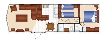 Ardmair holiday home floorplan