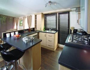 ardmair holiday home kitchen