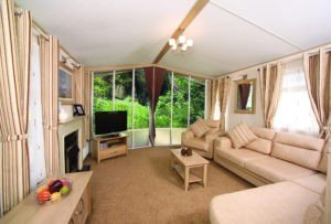 Ardmair holiday home living room